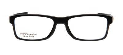 Oakley OX8089 Chamfer MNP 01 - 54 - Preto Fosco e Vermelho