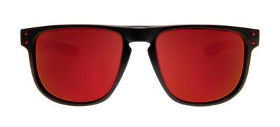 Oakley OO9377 Holbrook R - 07 - 55 - Preto e Vermelho