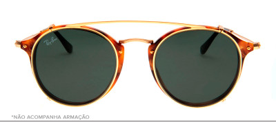 Ray-Ban Clip-On RB2447-C 49 - Dourado - 2500/71