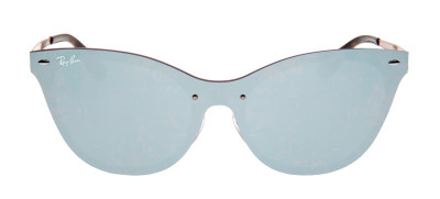 Ray-Ban RB3580-N Blaze Cat Eye 43 - Violeta e Prata - 9039/1U