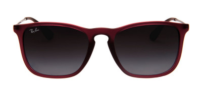 Ray-Ban RB4187L Chris 54 - Bordô Fosco - 6216/8G