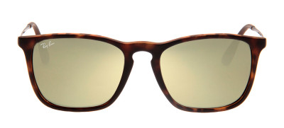 Ray-Ban RB4187L Chris 54 - Tartaruga e Dourado - 865/5A