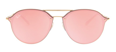 Ray-Ban RB4292-N Blaze Double Bridge 62 - Rosa e Dourado - 6327/E4