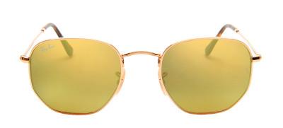 Ray Ban RB3548-N Hexagonal 51 - Dourado e Amarelo - 001/93