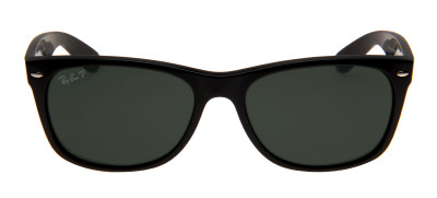 Ray-Ban RB2132 New Wayfarer 55 - Preto - Polarizado - 901/58