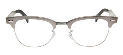Ray-Ban RB6295 Clubmaster Aluminum  51 - Cinza - 2808