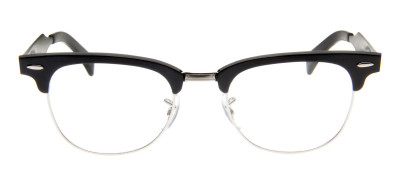 Ray-Ban RB6295 Clubmaster Aluminum  51 - Preto - 2804