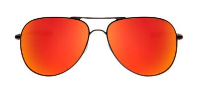 Oakley Elmont L 60 - Preto Fosco e Vermelho - OO4119-04