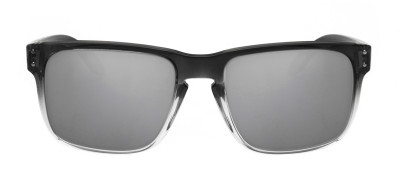 Oakley Holbrook 55 - Preto Translúcido e Prata - OO9102-A9