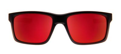 Óculos Oakley Mainlink 57 - Polarizado Preto Fosco e Espelhado Vermelho 8182a6e151