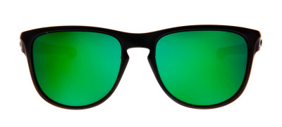 Oakley Sliver R 57 - Preto Fosco e Verde - OO9342-05