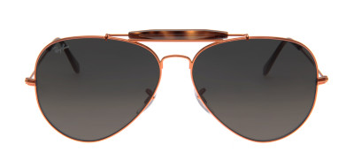 Ray Ban RB3029 Outdoorsman II 62 - Cobre - 197/71