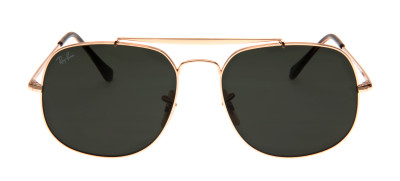Ray-Ban RB3561 The General 57 - Dourado - 001