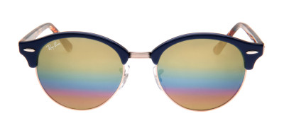 Ray-Ban RB4246 Clubround 51 - Azul - 1223/C4