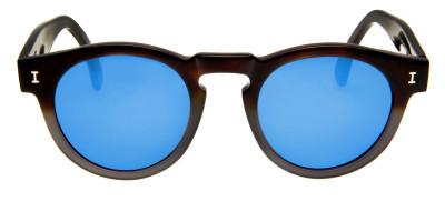 Illesteva Leonard  48 - Marrom/Azul Espelhado- 108