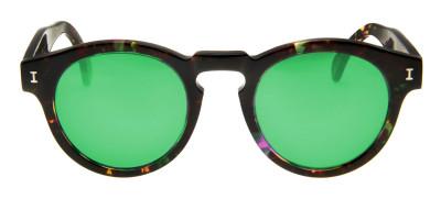 Illesteva Leonard  48 - Mesclado/Verde Espelhado - 120