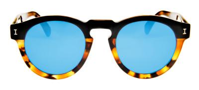Illesteva Leonard  48 - Tartaruga/Azul Espelhado- 11