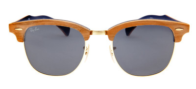 Ray Ban RB3016-M  51 - Bege e Madeira - 1180/R5