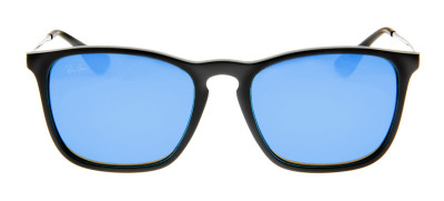 Ray Ban RB4187 Chris 54 - Preto - 601/55