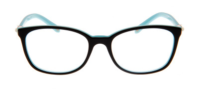 Tiffany & Co. TF2109-H-B 53 - Preto e Azul Claro - 8055