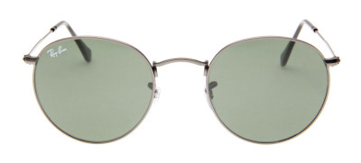 Ray-Ban Round Cinza 50 - RB3447 - 029