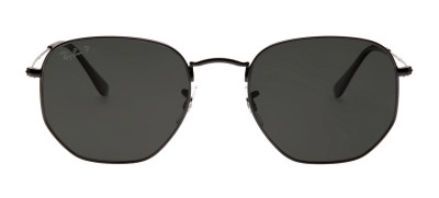 Ray Ban RB3548-N Hexagonal 54 - Preto - 002/58