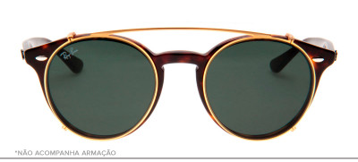 Ray-Ban Clip-On RB2180-C 49 - Dourado - 2500/71