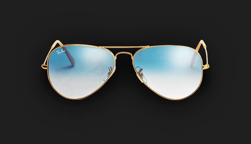 a53ca16750bb1 Óculos Ray-Ban Aviador - Óculos Aviador são um clássico! - QÓculos.com