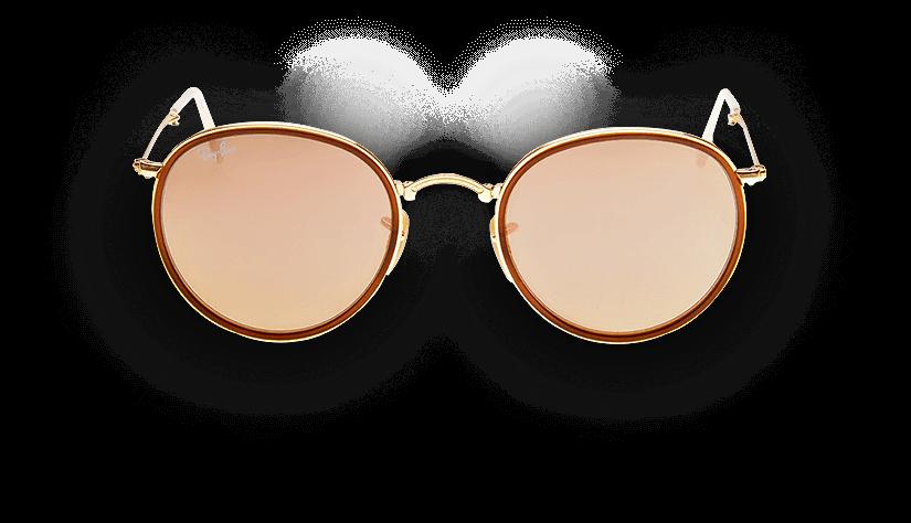 6ba6d0e0abbfe Ray-Ban Round - Modelos de Óculos Ray-Ban Round - QÓculos.com